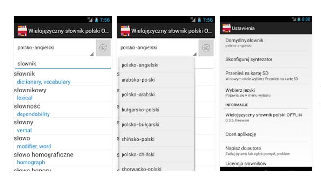 Wielojęzyczny słownik polski – Aplikacje na podróż