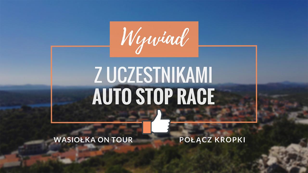 Wywiad z uczestnikami Auto Stop Race