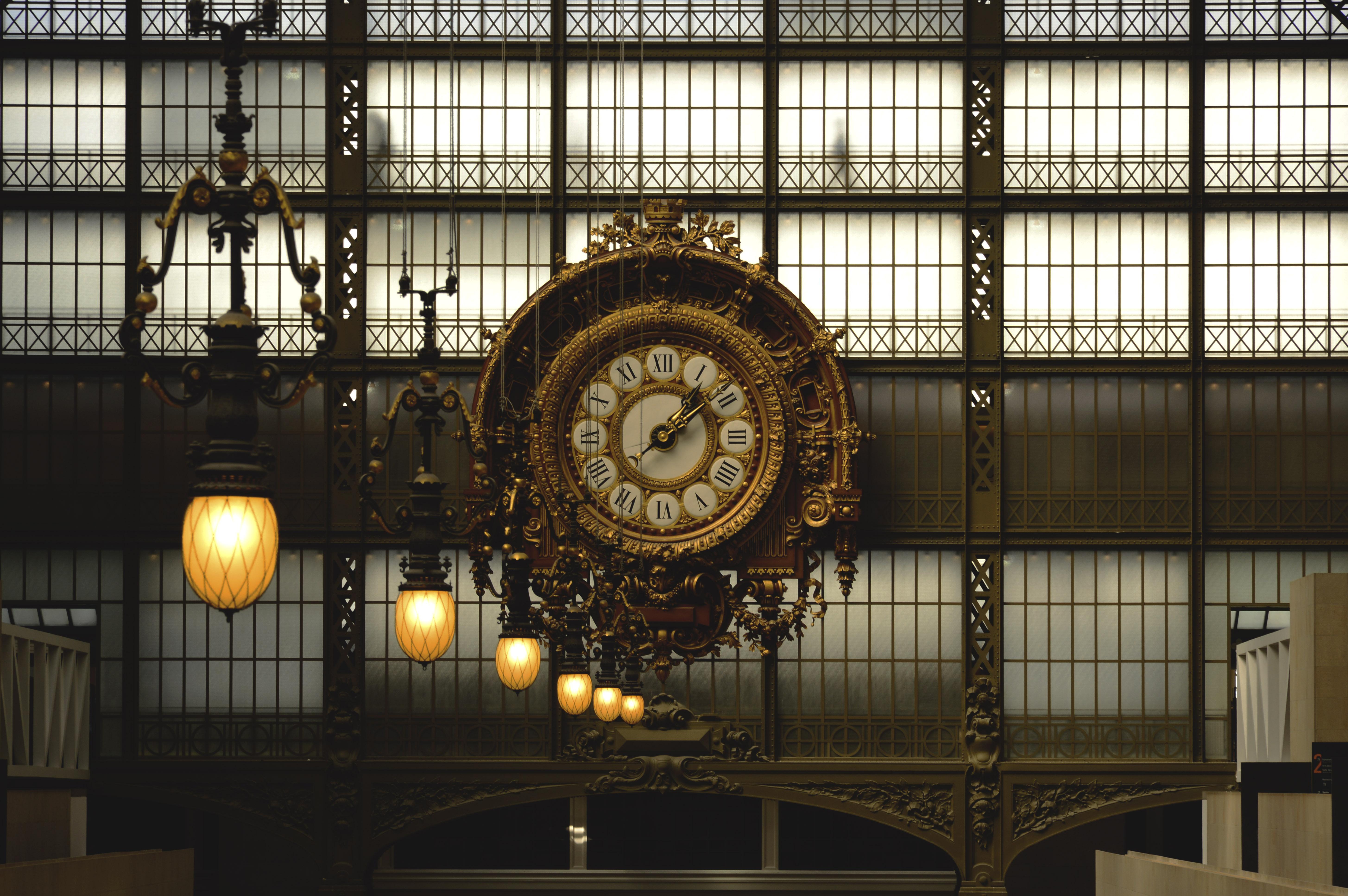 zmiana czasu - zegar