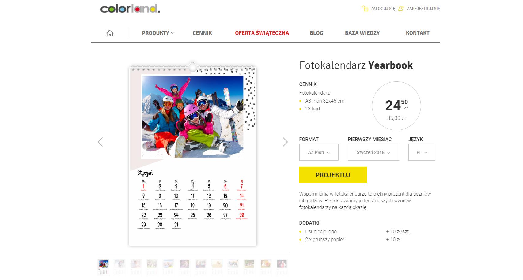 pomysł na prezent dla podróżnika - kalendarz