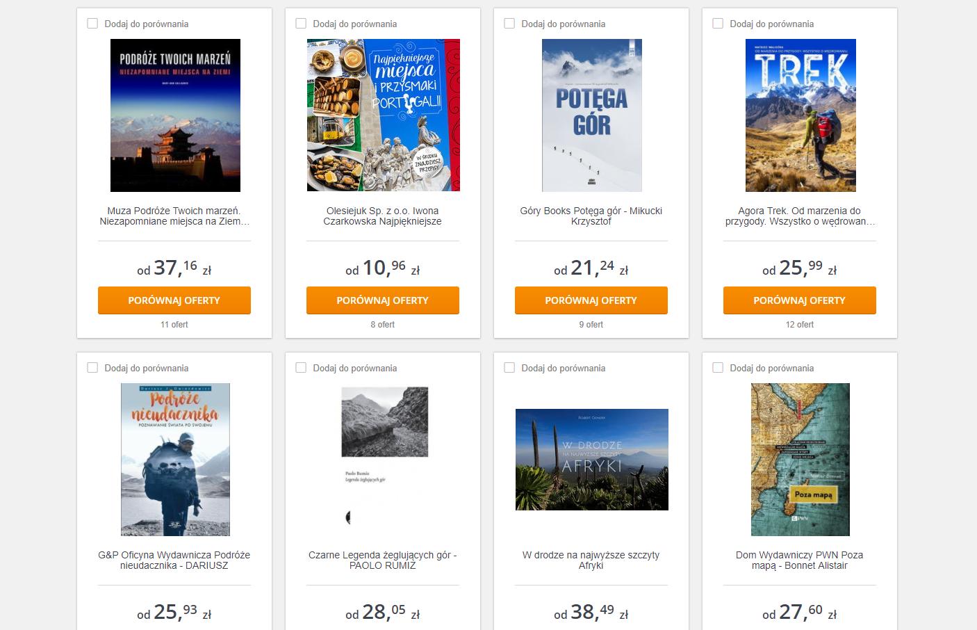 pomysł na prezent dla podróżnika - książka podróżnicza