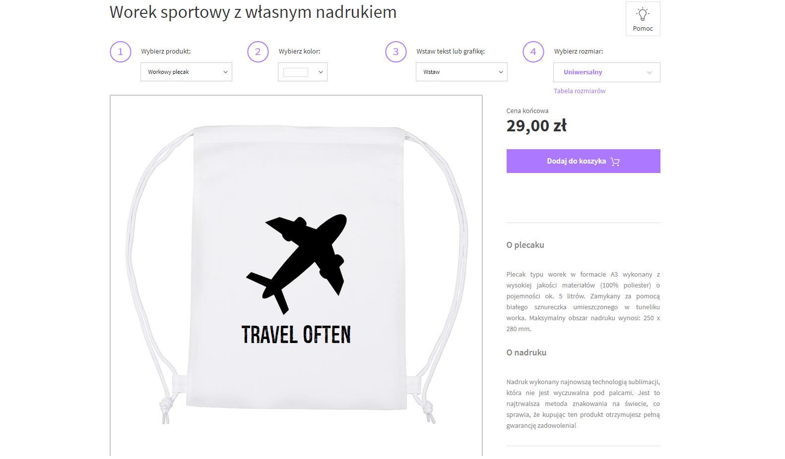 pomysł na prezent dla podróżnika - torboworek