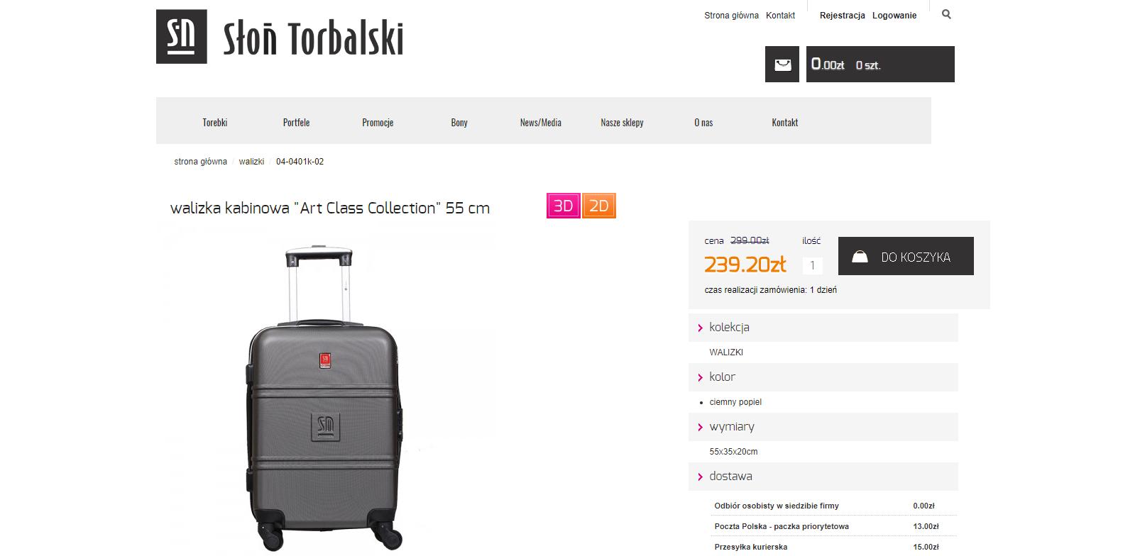 pomysł na prezent dla podróżnika - walizka kabinowa