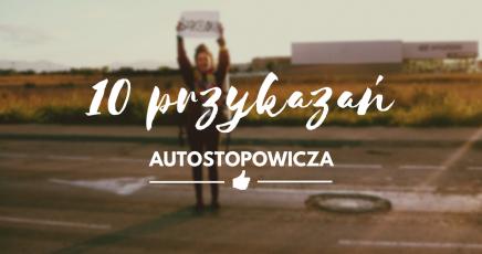 10 przykazań autostopowicza