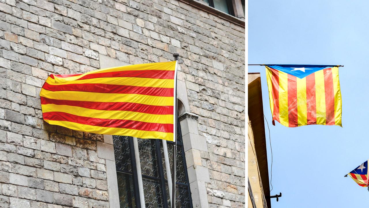 15 faktów i ciekawostek o Hiszpanii - Flaga Katalonii - Kate Traveller - Blog Podróżniczy