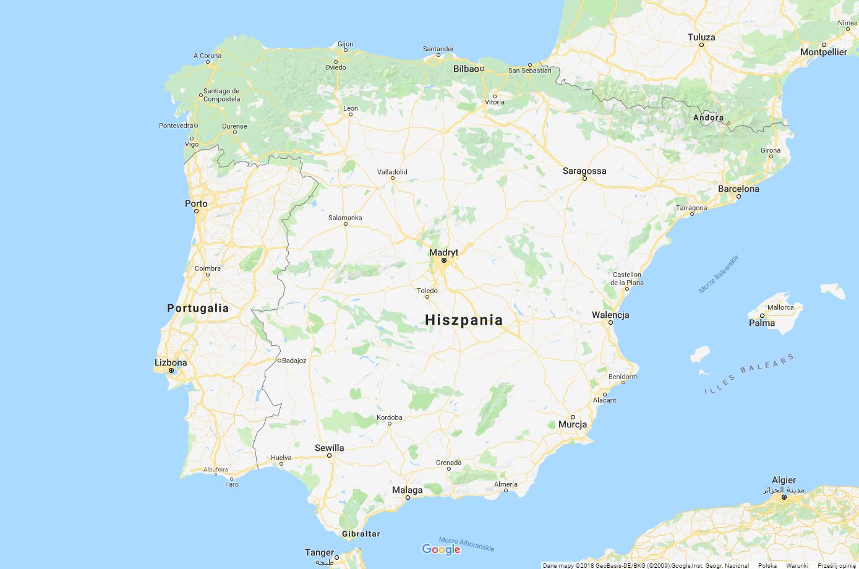 Fakty i ciekawostki o Hiszpanii - Mapa Hiszpanii - Kate Traveller - Blog Podróżniczy