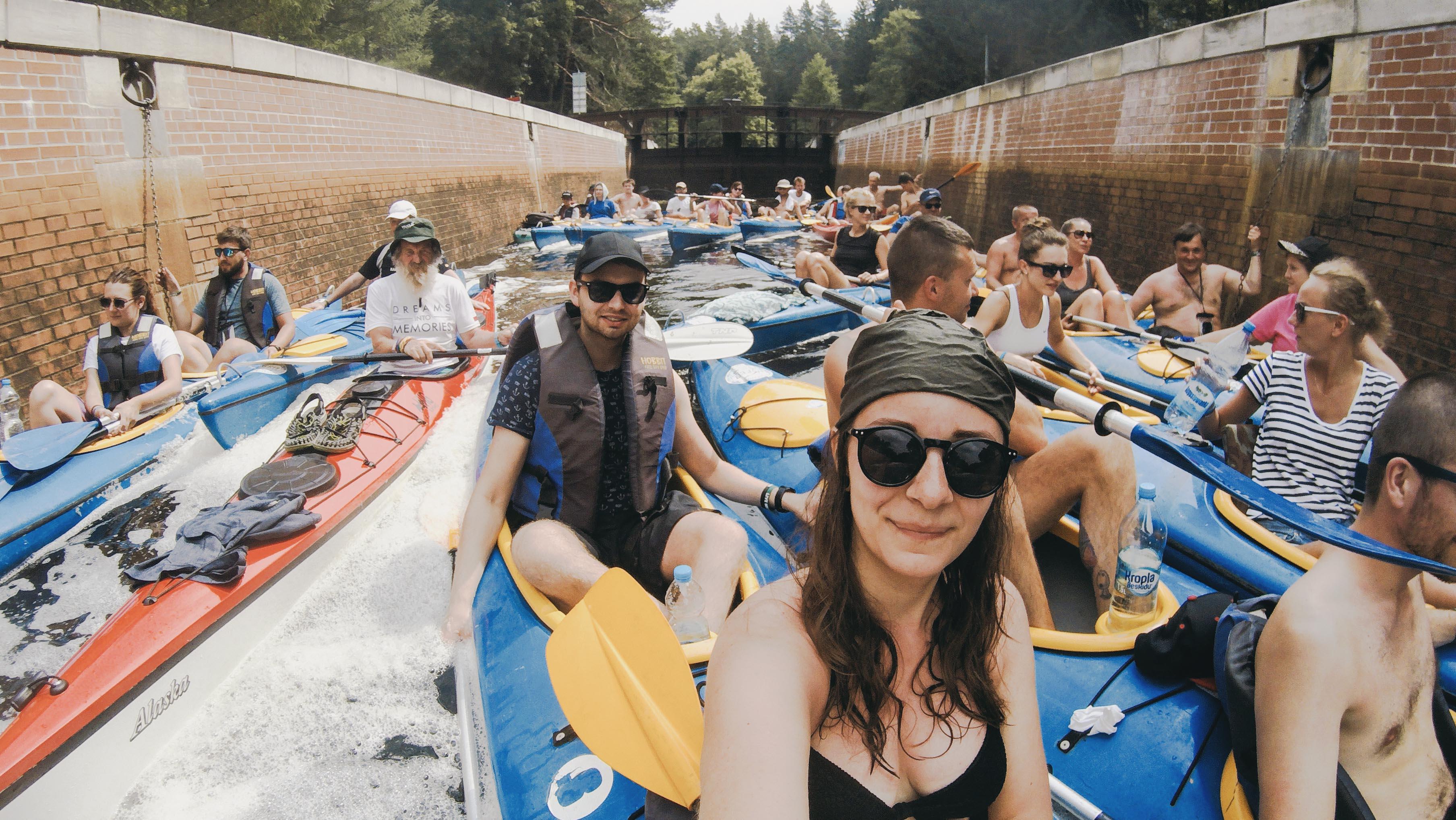 Spływ kajakowy z Aleksandrem Dobą - Kate Traveller